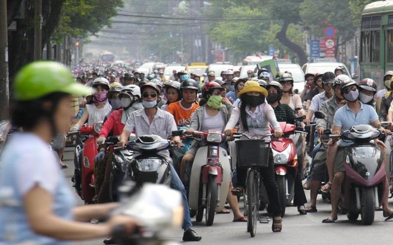Vietnam mobylettes