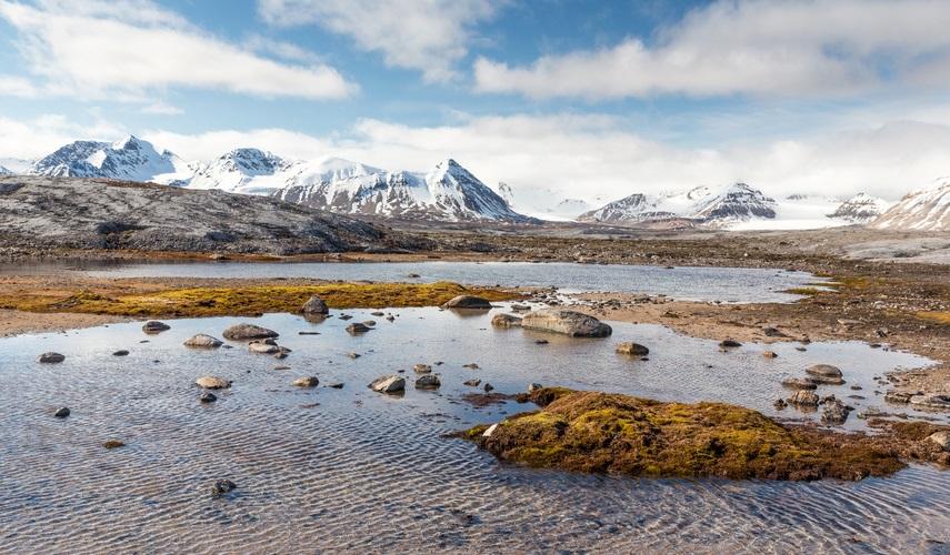 îles Arctique rechauffement climatique