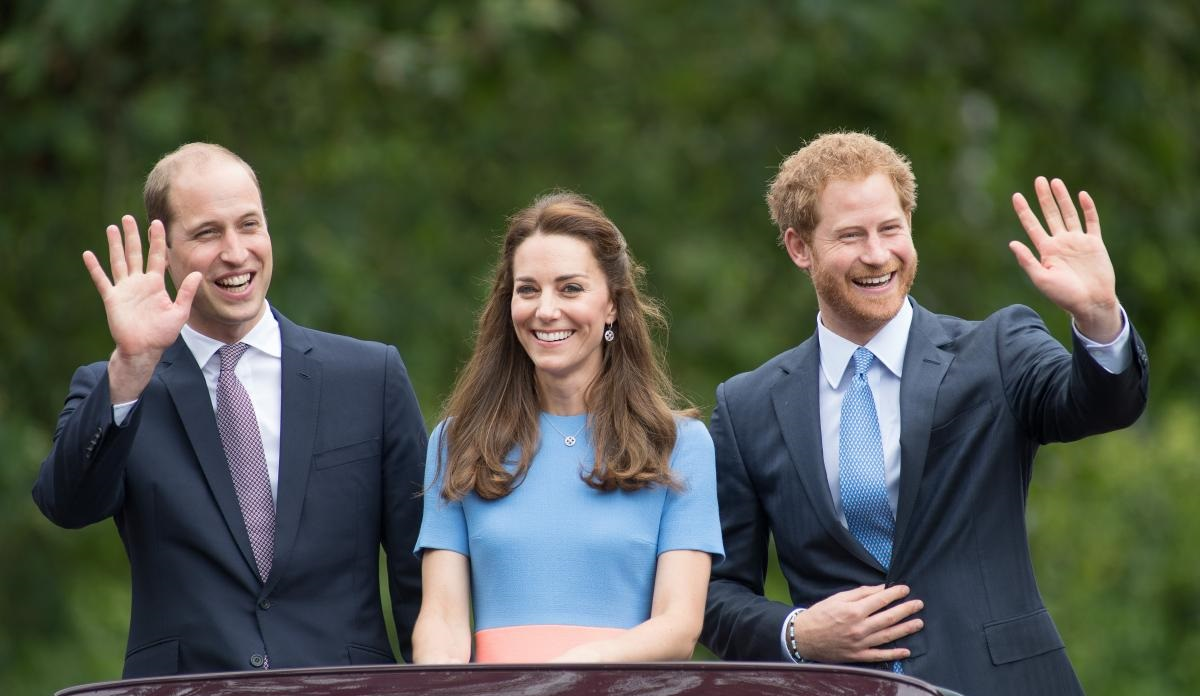 Trio Royal : William, Kate et Harry