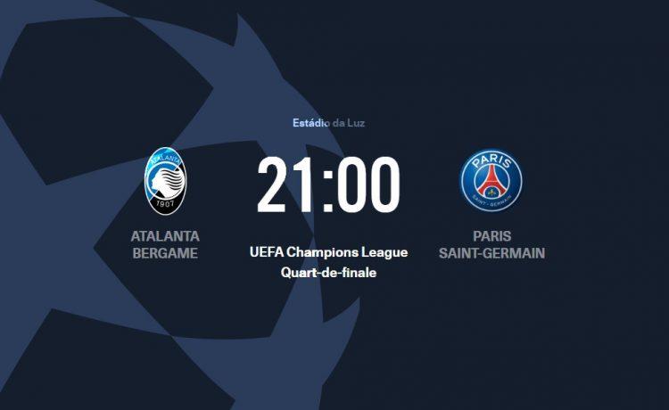 Atalanta-PSG Ligue des Champions