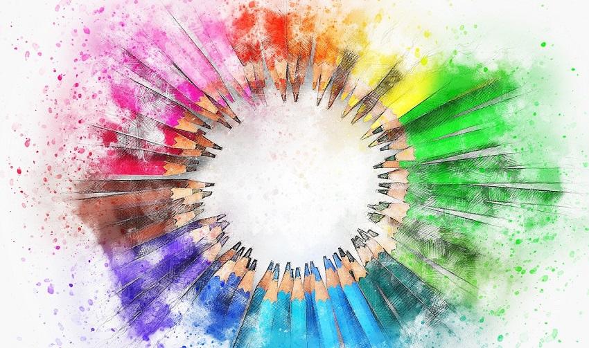 Crayons textiles