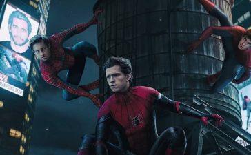 Spider-Man 3 avec Tom Hollan, Andrew Garfield et Tobey Maguire