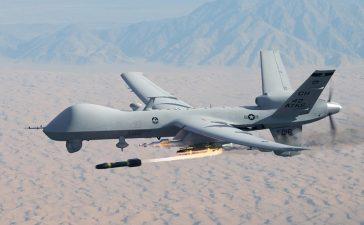 Drone d'attaque américain en Syrie