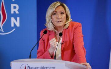 Marine Le Pen candidate 2022