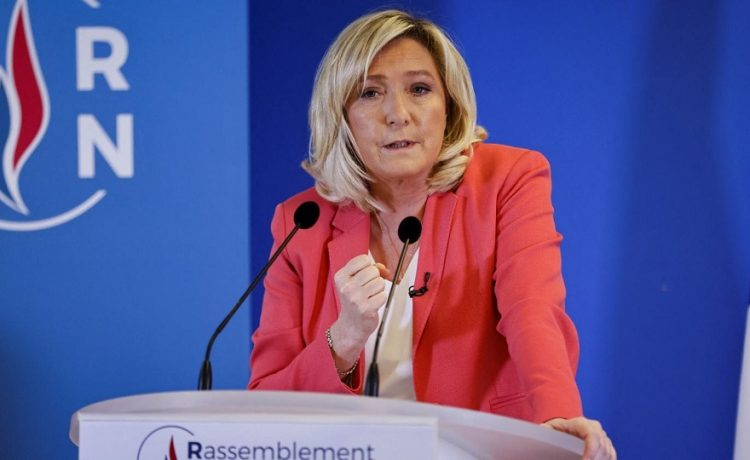 Marine Le Pen candidate 2022